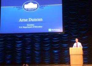 Arne Duncan at Datapalooza 2014